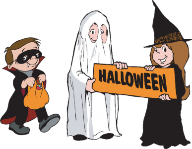 little-trick-or-treaters-with-sign